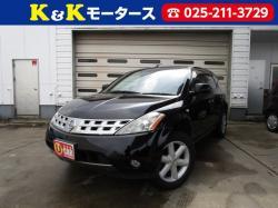 K&Kモータース入庫情報!セール特価!ムラーノ!4WD!黒革!支払い総額45万円!