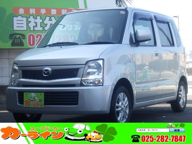 ☆カーライン☆最新入庫 AZワゴン FX 車検31年4月 5速MT キーレス