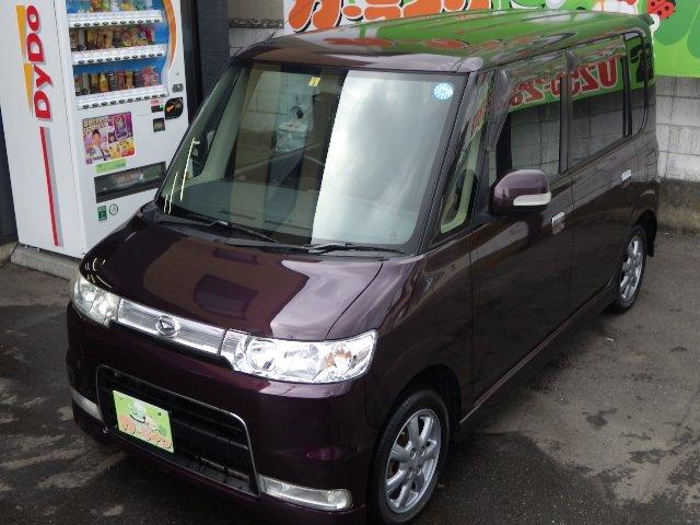 ☆カーライン☆最新入庫 タイベル済の4WDタントカスタムが25万円以内で登場 ☆
