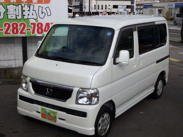 ☆カーライン☆最新入庫 バモス L 4WD 4速オートマ ウッドパネル ☆