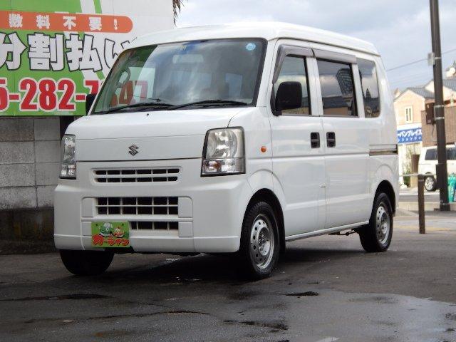 ☆カーライン☆最新入庫 エブリイ PA ハイルーフ 切替4WD オートマ車
