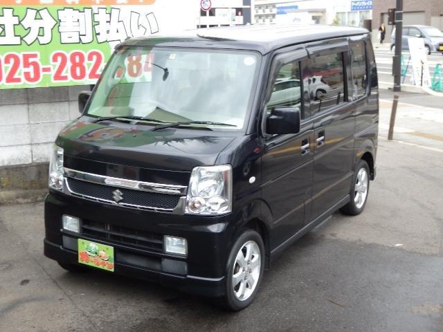 ☆カーライン☆最新入庫 エブリイワゴン レザー セレクション 4WD ターボ Wパワスラ ☆