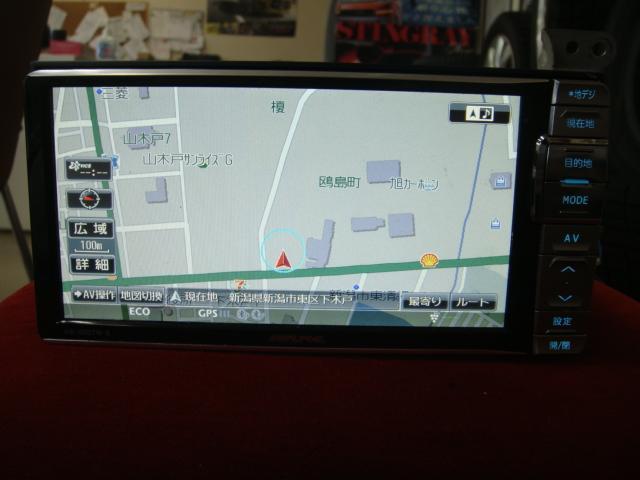 カーナビ(インダッシュ) アルパイン HDDナビ VIE-X007W-S