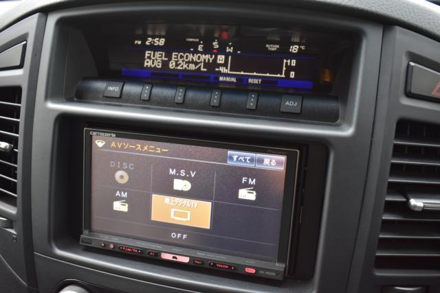 HDDナビは音楽録音 DVD再生 フルセグテレビ等、機能充実です!