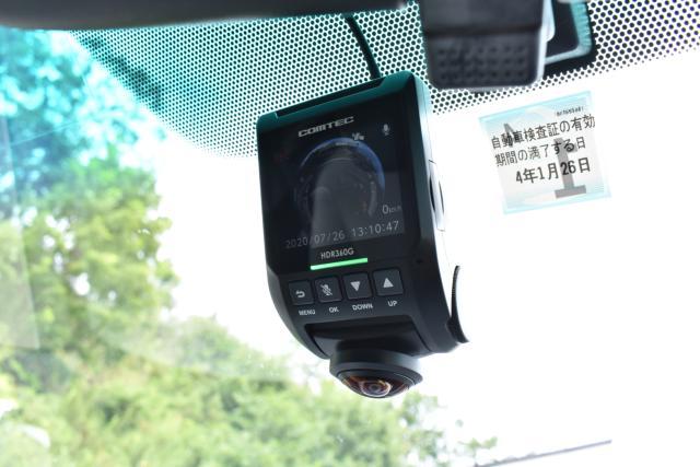 360°ドライブレコーダー装着車!