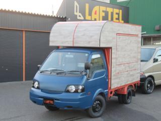 バネットトラック DX 4WD 移動販売車 2槽シンク 発電機
