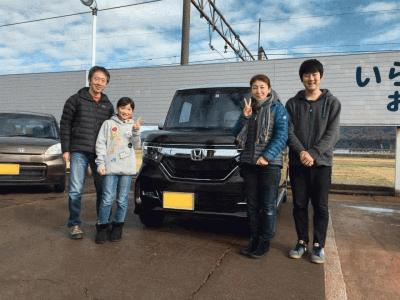 N-BOXカスタム G-L Honda SENSING 2トーンカラー 4WD  ☆新車☆