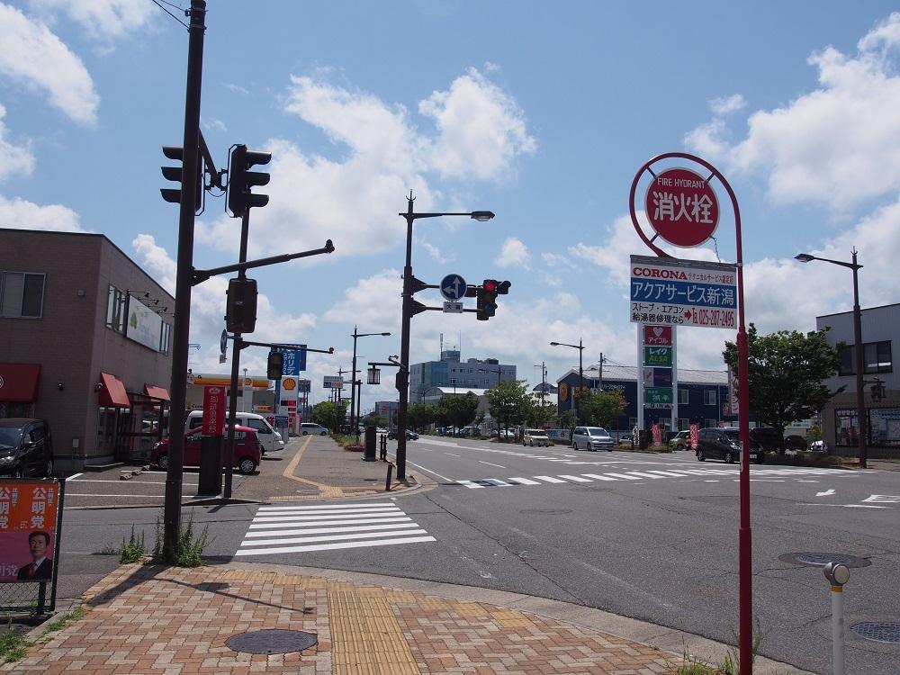 当店へのアクセスですが、新潟駅を背にしてアピタ様方向へ直進します。<br /> その後『珈琲倶楽部』様、『サテライト新潟』様がある交差点を左折するとすぐにございます!!<br /> 来店の際はお気をつけてお越し下さい!!