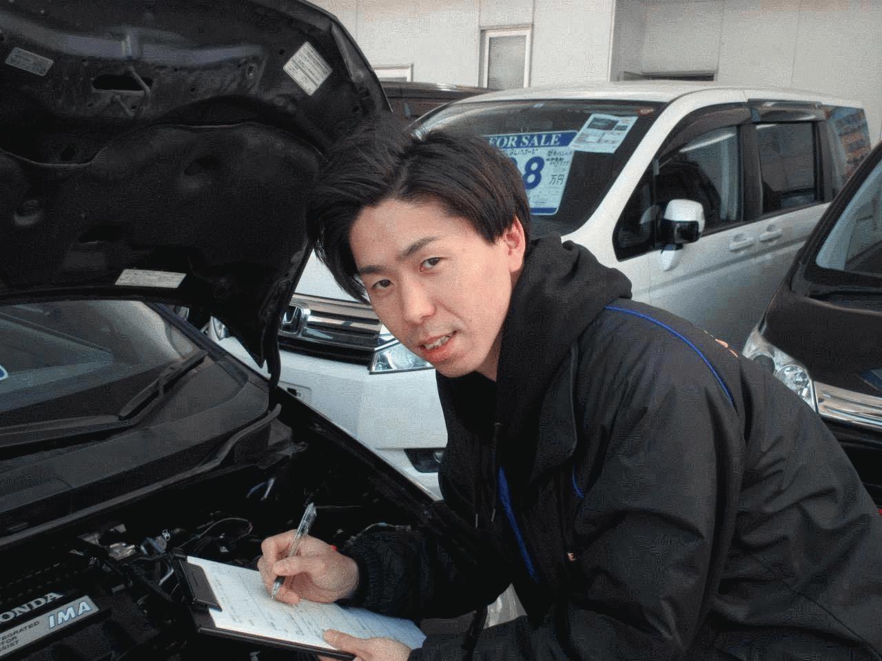 営業担当の小嶋です。 お車選びのことならお任せください。 お客様にピッタリのお車をご提案させて頂きます。 カーライフを楽しんでいただけるように精一杯サポートさせて頂きます。