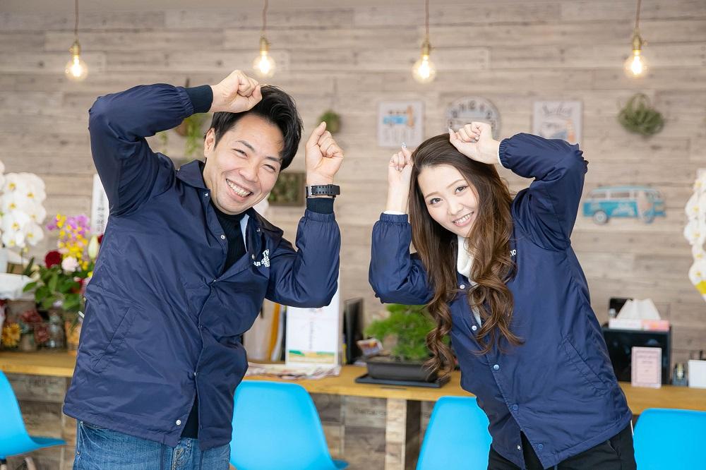買取マウスポーズ!!!<br /> 副店長の櫻井と女性スタッフの高橋が皆様のお越しを心よりお待ちしております♪